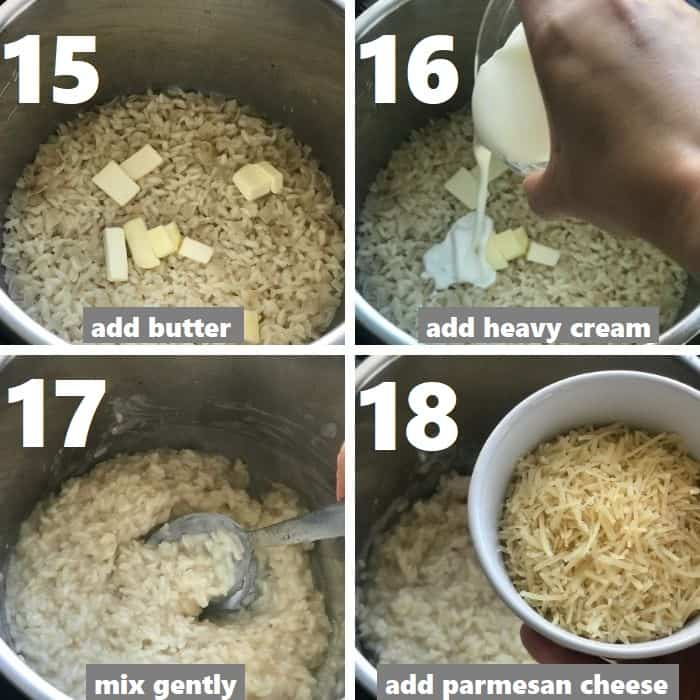 adding dairy in instant pot