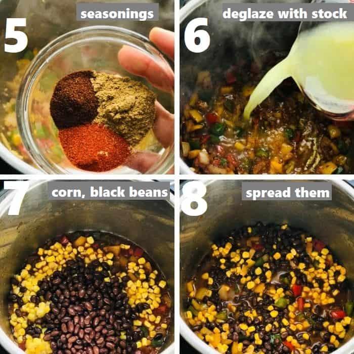 de-glazing instant pot