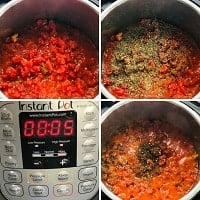 pressure cooking penne and frozen meatballs in instant pot