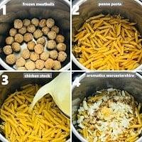 layering ingredients in instant pot