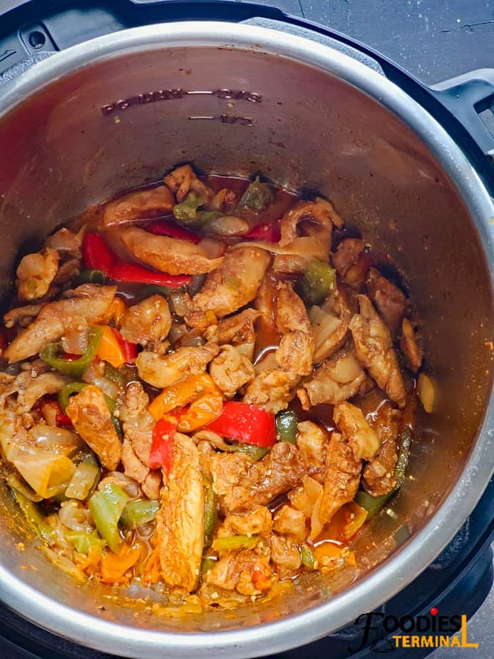 best chicken fajitas in instant pot