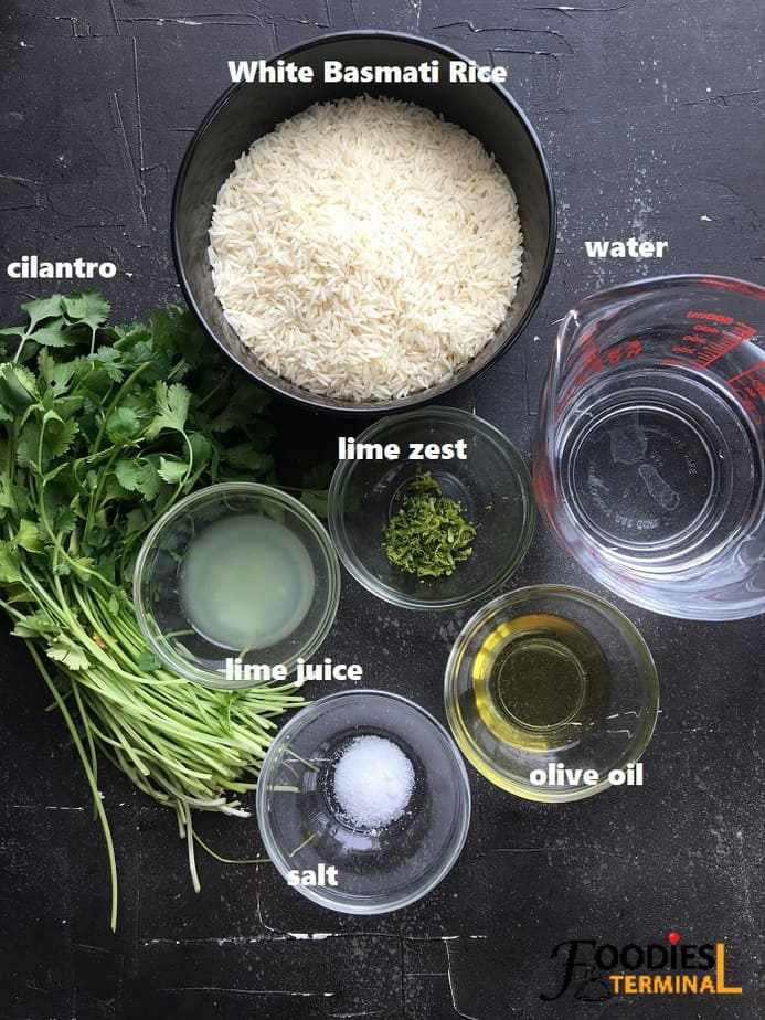 recipe ingredients on black surface