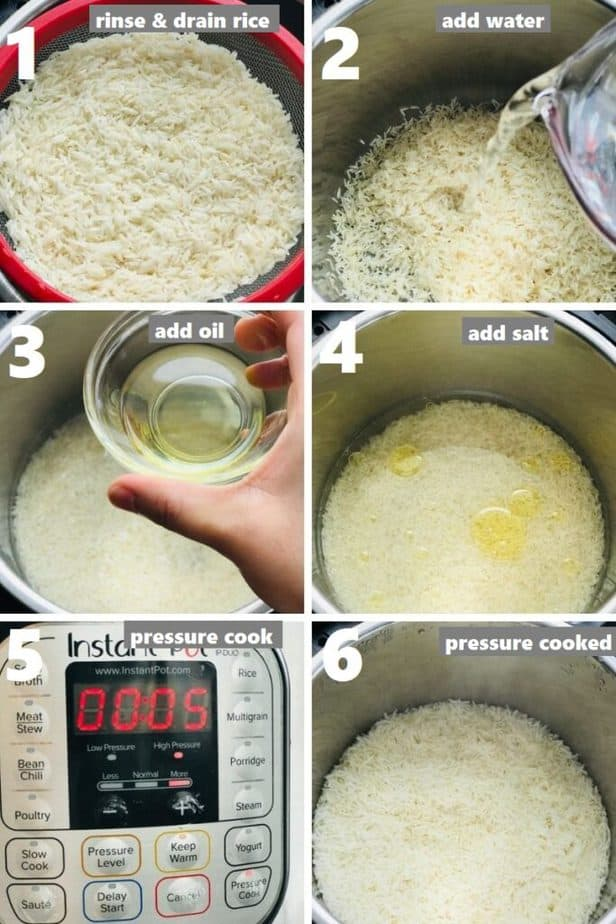 pressure cooking rice