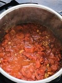 pressure cooked amaerican goulash or american chop suey