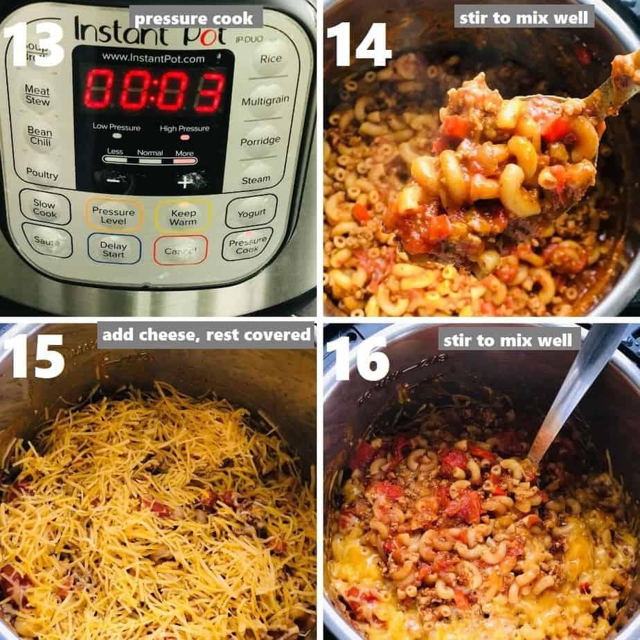 pressure cooking american goulash recipe
