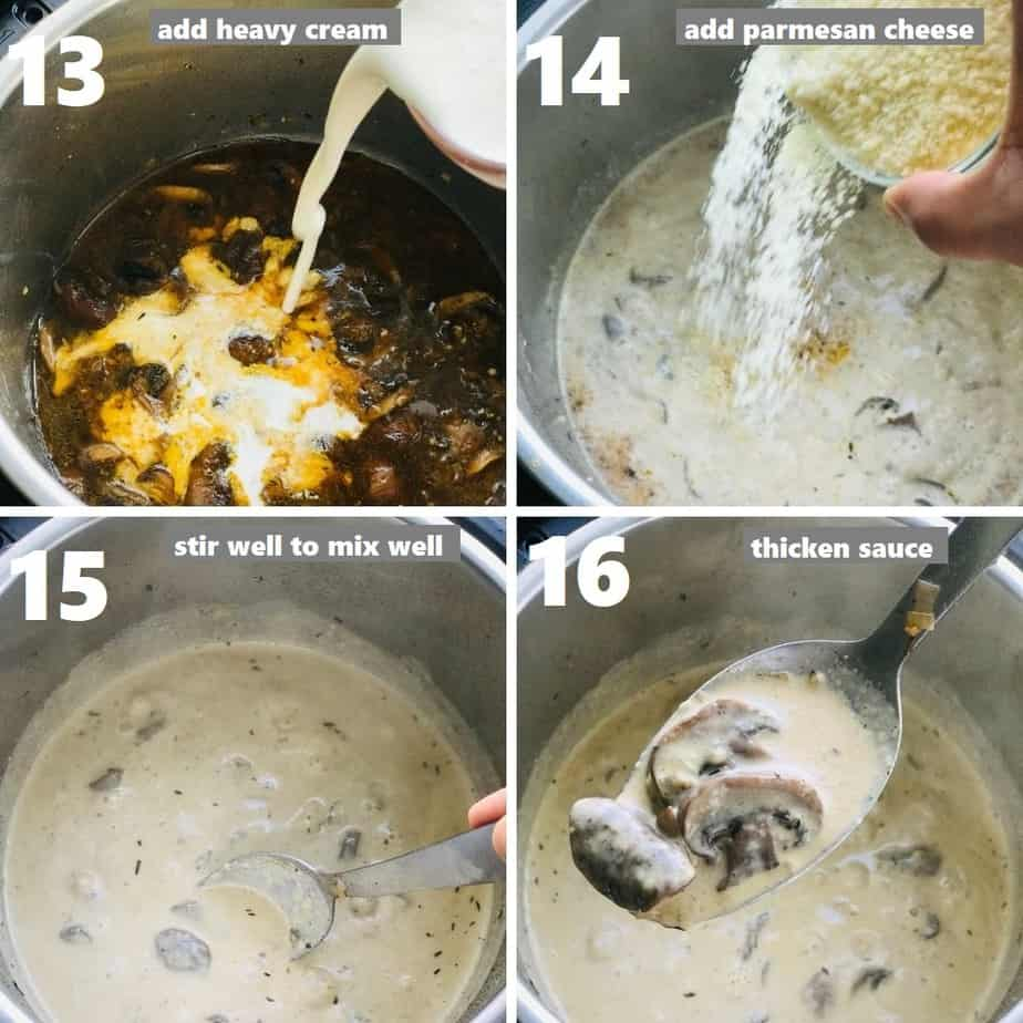 making creamy sauce in instant pot